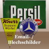 Email- Blech- Reklameschilder