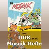 DDR Mosaik Hefte