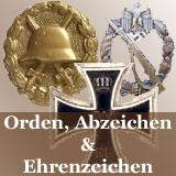 Orden Abzeichen u. Ehrenzeichen